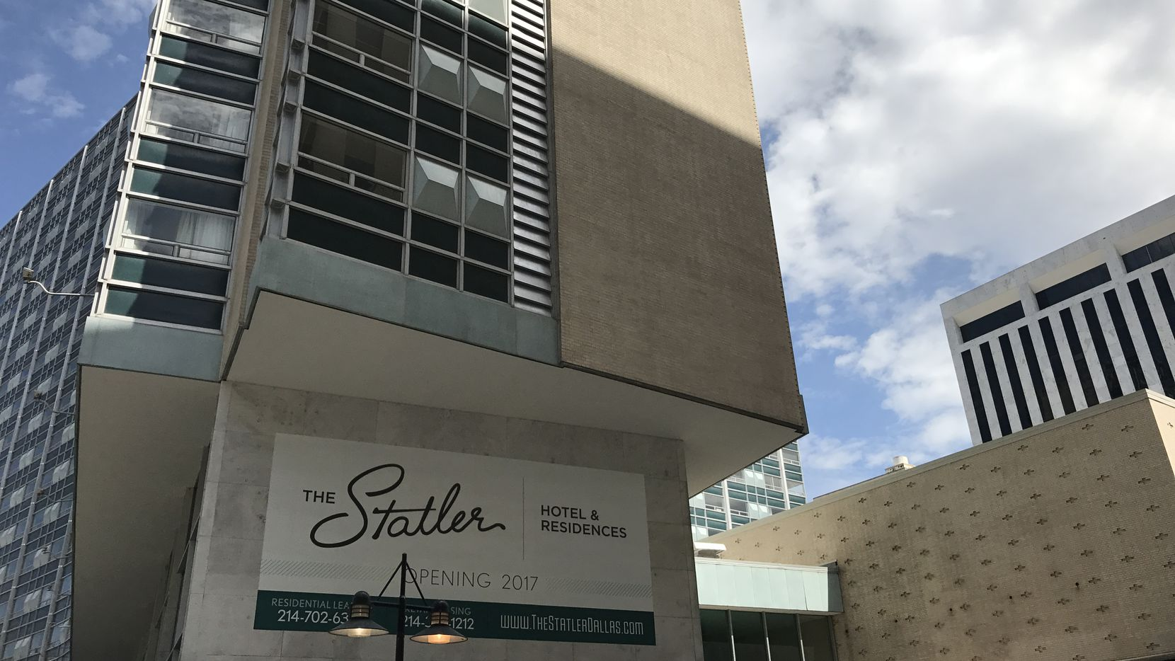 About 130 people who live in the historic Statler Hotel will have to relocate temporarily.