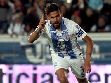 El delantero argentino Franco Jara llegará en junio al FC Dallas de la MLS procedente de Tuzos de Pachuca de la Liga MX.