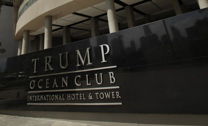El Trump Ocean Club International Hotel and Tower en Panamá.(AP)