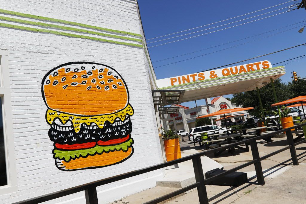 Pints & Quarts was a small burger shop on Lowest Greenville in Dallas. It wasn't a moneymaker and restaurateur Brooke Humphries decided to close it.