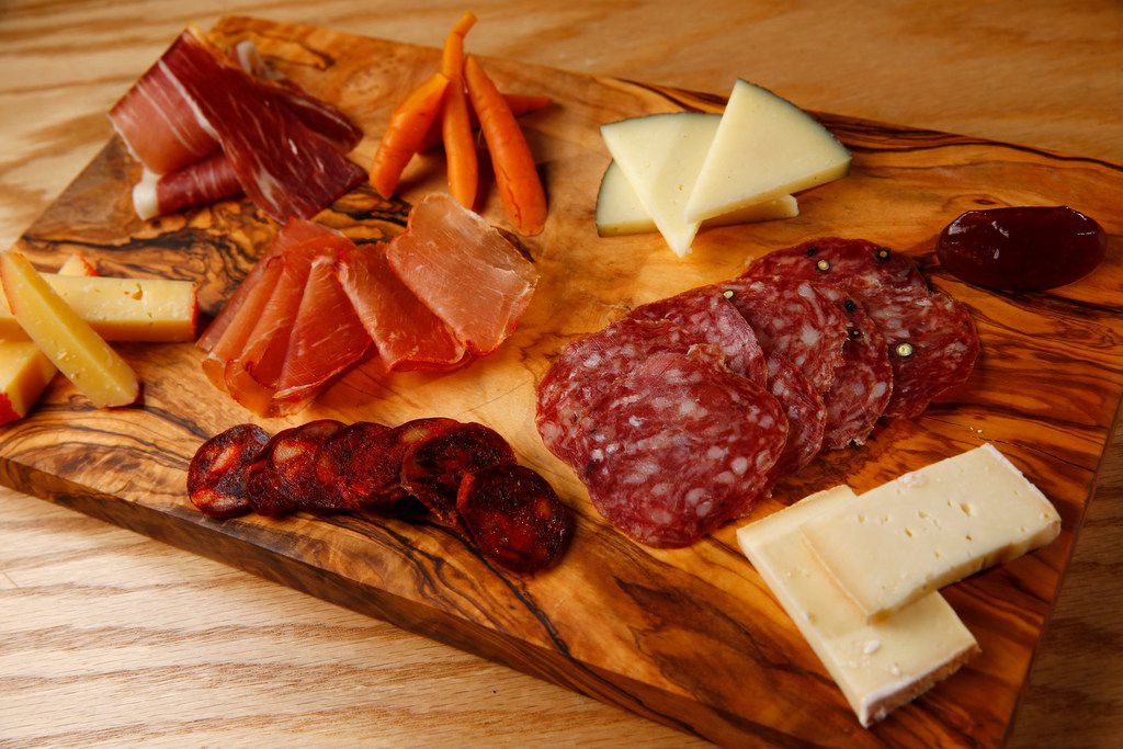 Charcuterie boards, made with Spanish meats and cheeses, are bound to be popular at Tapas Castile.