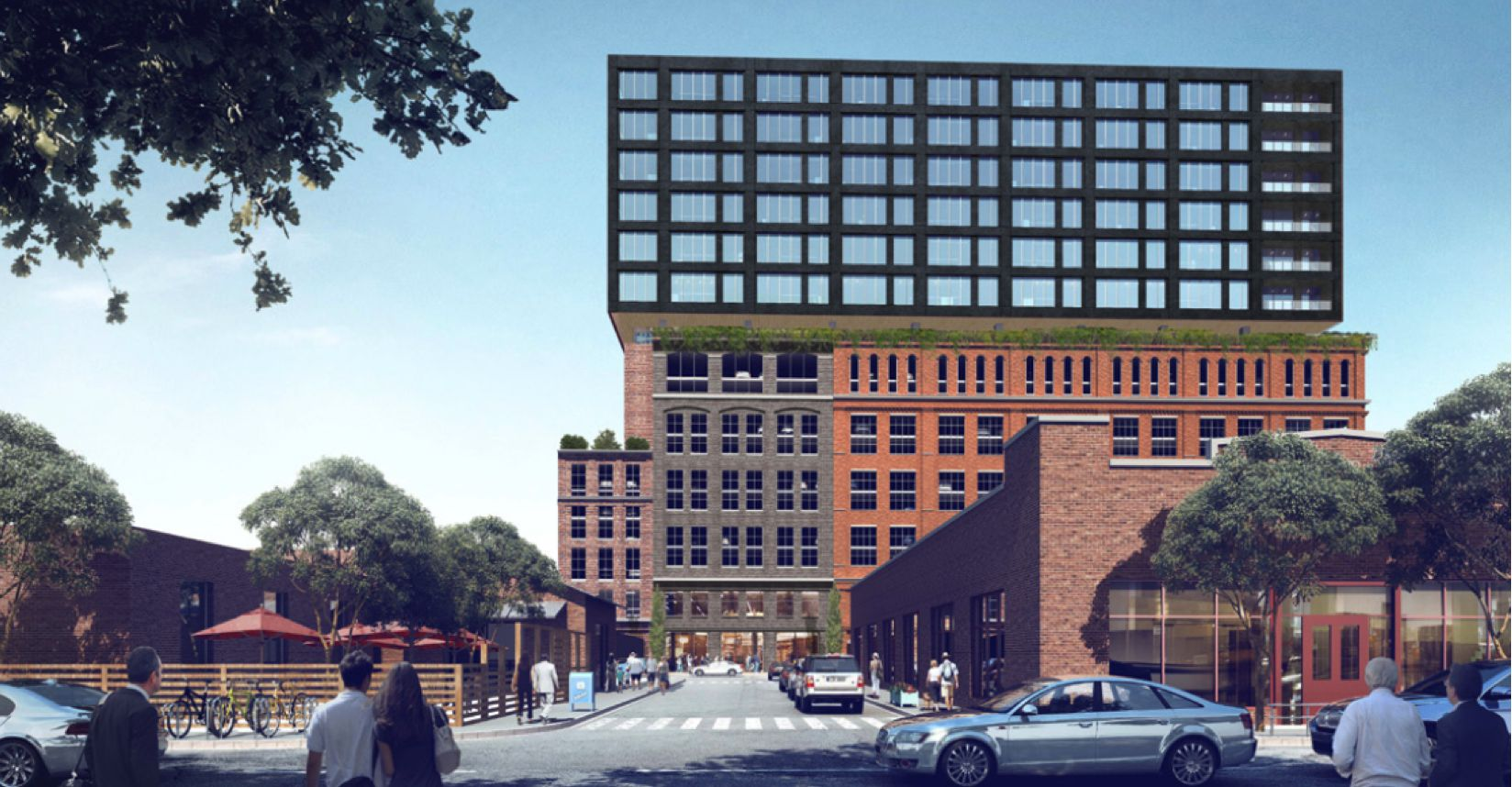 Houston-based developer Hines plans to start construction later this year on an office tower and retail building in Deep Ellum.