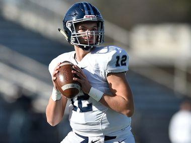 Argyle Liberty Christian quarterback Daniel Greek signed with Mississippi State on Wednesday.