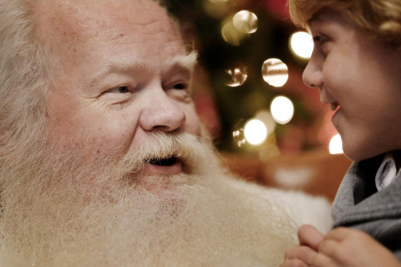 In 2019, the NorthPark Center Santa Claus listened to 7-year-old Roman Kister's Christmas wish list. Face-to-face Santa visits won't happen this year, but NorthPark has a plan.