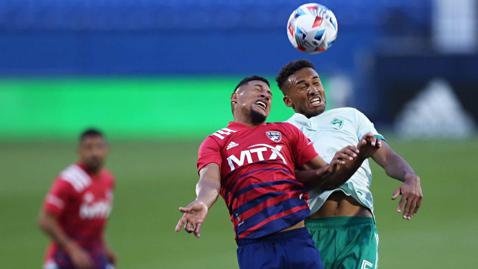 FC Dallas y Rapids de Colorado empataron 0-0 en su juego inaugural de la temporada 2021 de la MLS efectuado en el Toyota Stadium de Frisco, el 17 de abril de 2021.