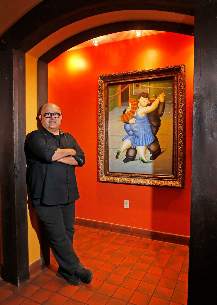 Thomas Ojeda, the son of Ben and Cecilia Ojeda, who opened Dallas Tex-Mex mainstay Ojeda's in 1969, is pictured at the restaurant on Maple Avenue in Dallas, on Tuesday, September 25, 2018.