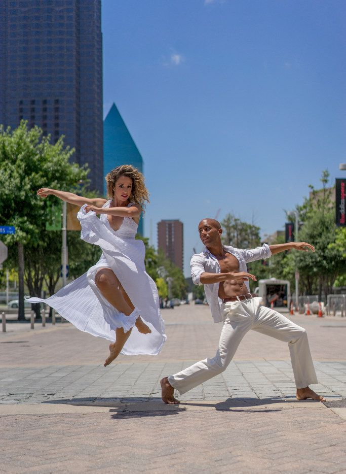 Michelle Hebert and Sean J. Smith of Dallas Black Dance Theatre, which is hosting the  International Association of Blacks in Dance conference and performing at the showcase concerts.