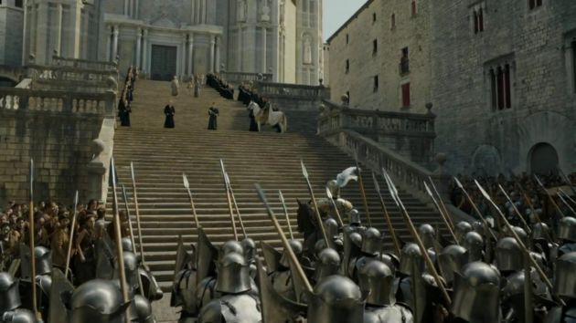 Have you ever wanted to see the buffoon Mace Tyrell charge into battle so badly? Maybe next time.