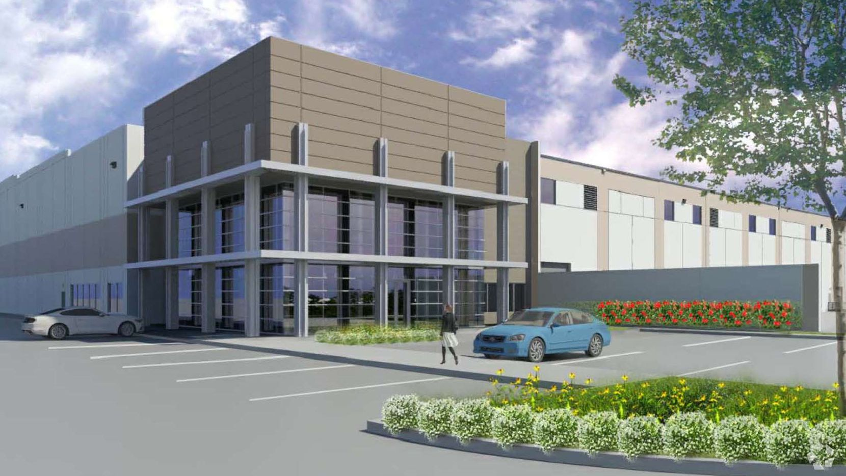 Dallas-based Copeland Commercial is developing the new warehouse project, which JLL will lease. (JLL)