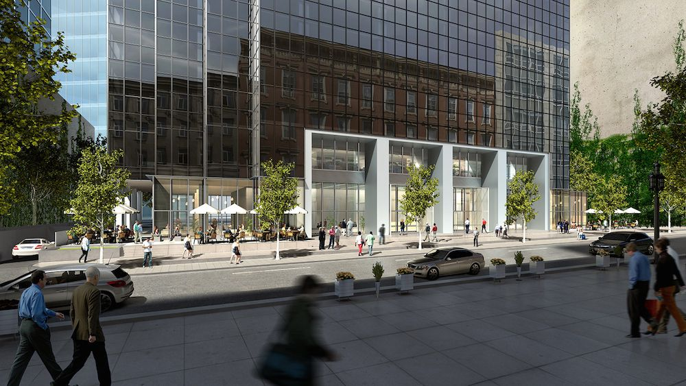 WeWork expects as many a 1,600 people will work in its new Thanksgiving Tower office.