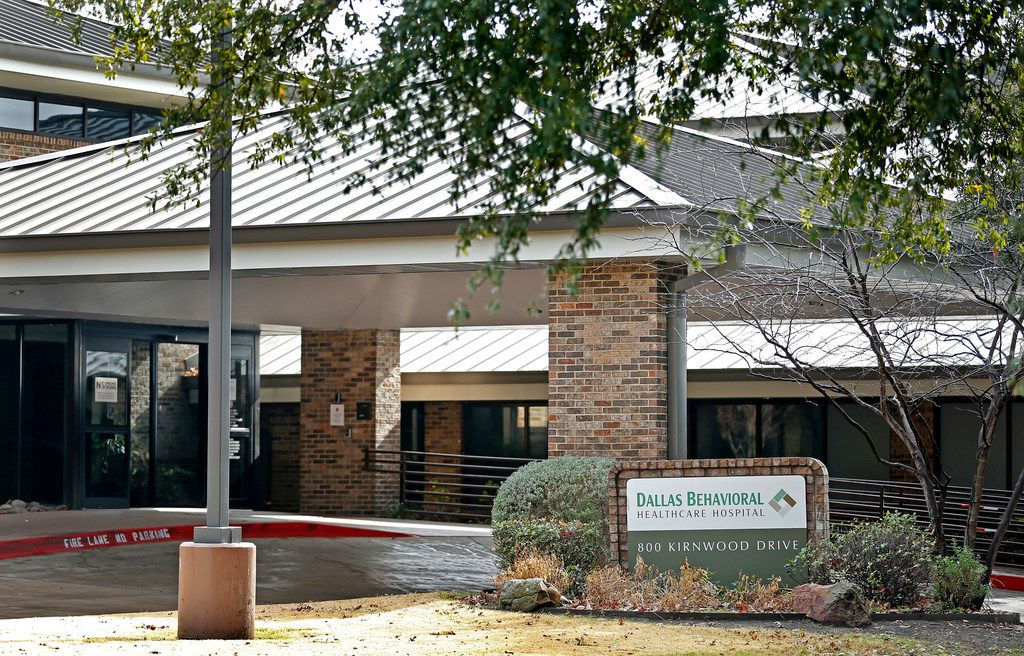 Dallas Behavioral Healthcare Hospital, a psychiatric facility, in DeSoto, Texas is pictured on Wednesday December 19, 2018.