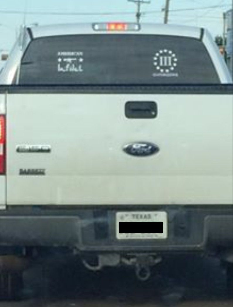CAIR-DFW says the driver of this truck threatened one of its employees this week.