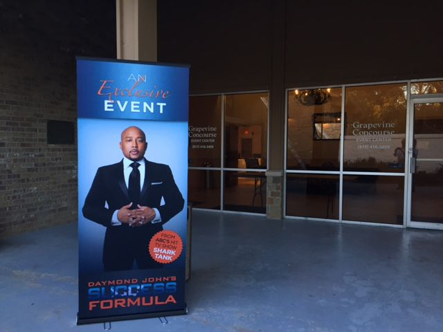 Daymond John of ABC's Shark Tank fame is another reality TV star lending his name to business seminars in rented ballrooms. Like others we've seen, he doesn't appear in person, disappointing some fans. The Watchdog was not allowed to take photos inside, but we attended. Find out what happened.