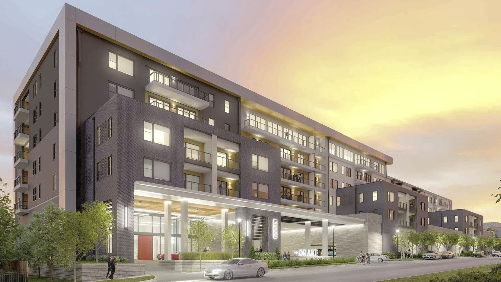 The Drake will have 85 residential units south of White Rock Lake.