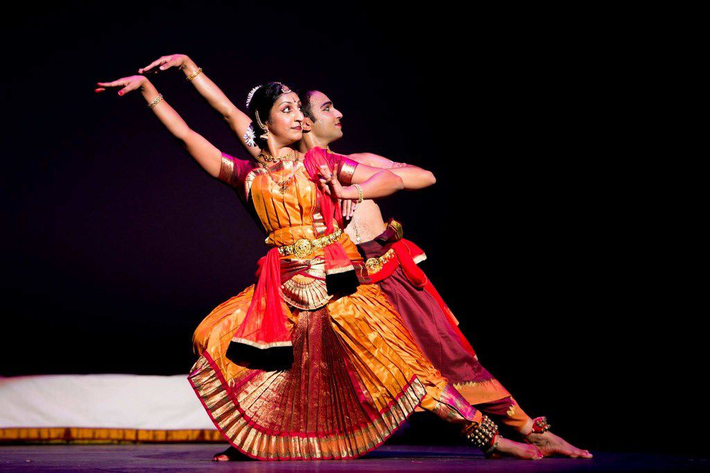 A performance by Tejas Dance's dancer-choreographers Bhuvana Venkatrama and Chintan Patel will be  among the intriguing possibilities awaiting the audience at Dallas Dances. (Photo by Krishna Murthy)