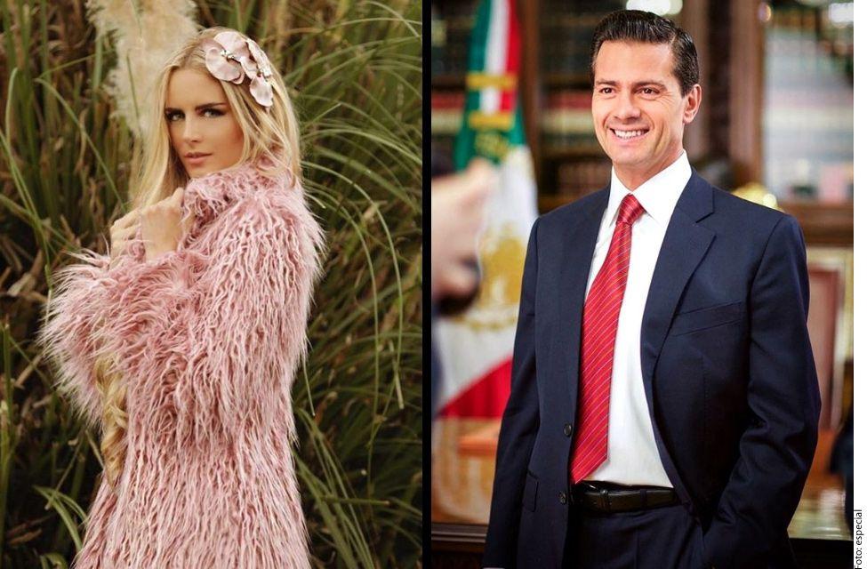 La modelo y ex mandatario fueron vistos juntos en Madrid./ AGENCIA REFORMA