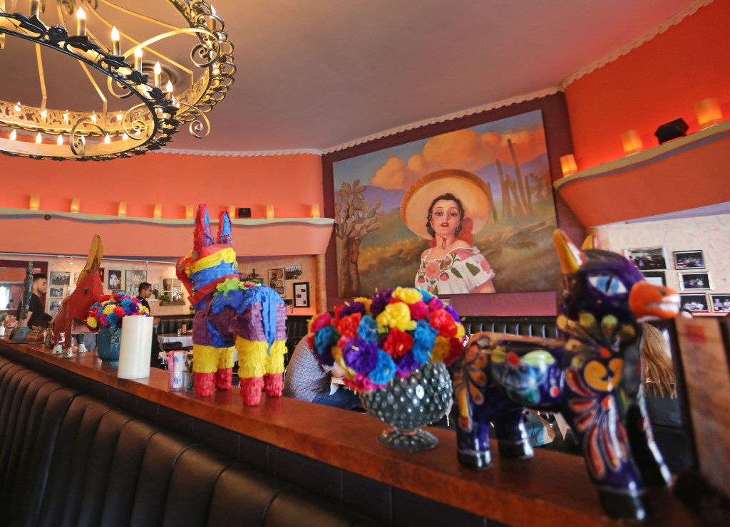 El Corazon Mexican Restaurant is situated along the Dallas streetcar route in Oak Cliff near the Bishop Arts District stop, photographed on Thursday, April 13, 2017. (Louis DeLuca/The Dallas Morning News)