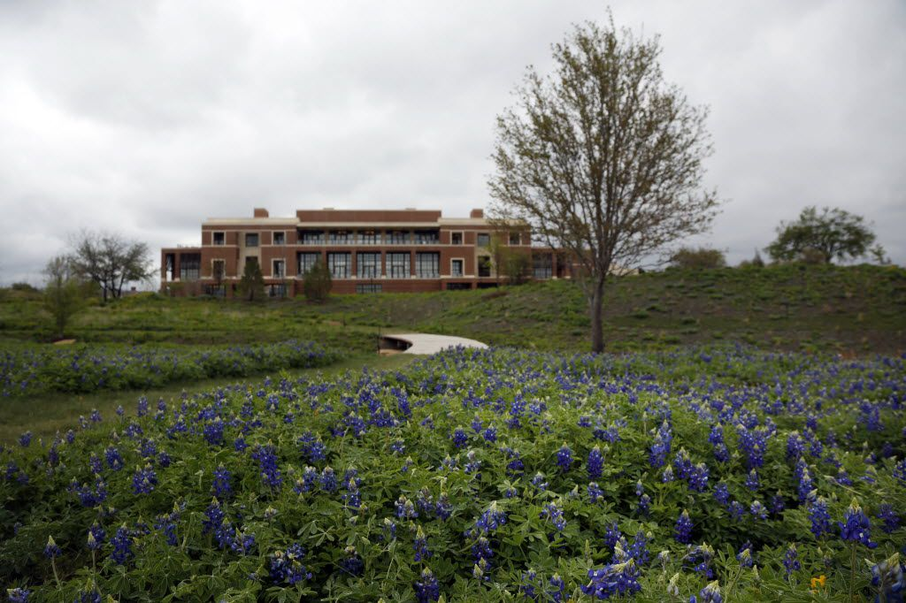 Former President George W. Bush and his wife, Laura, want to be buried at the George W. Bush Presidential Center in University Park.