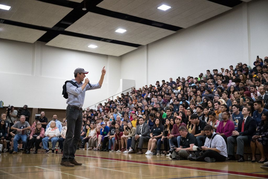 """Senate candidate Rep. Beto O'Rourke says his vision for Texas' business community is """"focused on investments in communities and people"""" and that it would be """"good for us all."""" But many business leaders are supporting incumbent Sen. Ted Cruz."""
