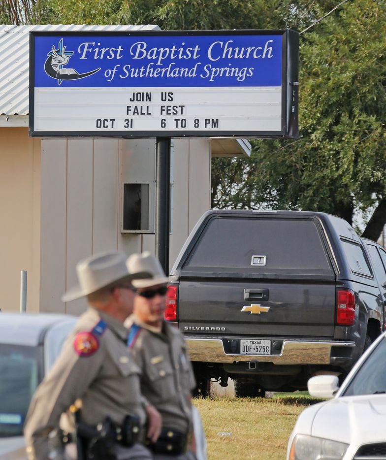 The investigation continues at the First Baptist Church of Sutherland Springs.