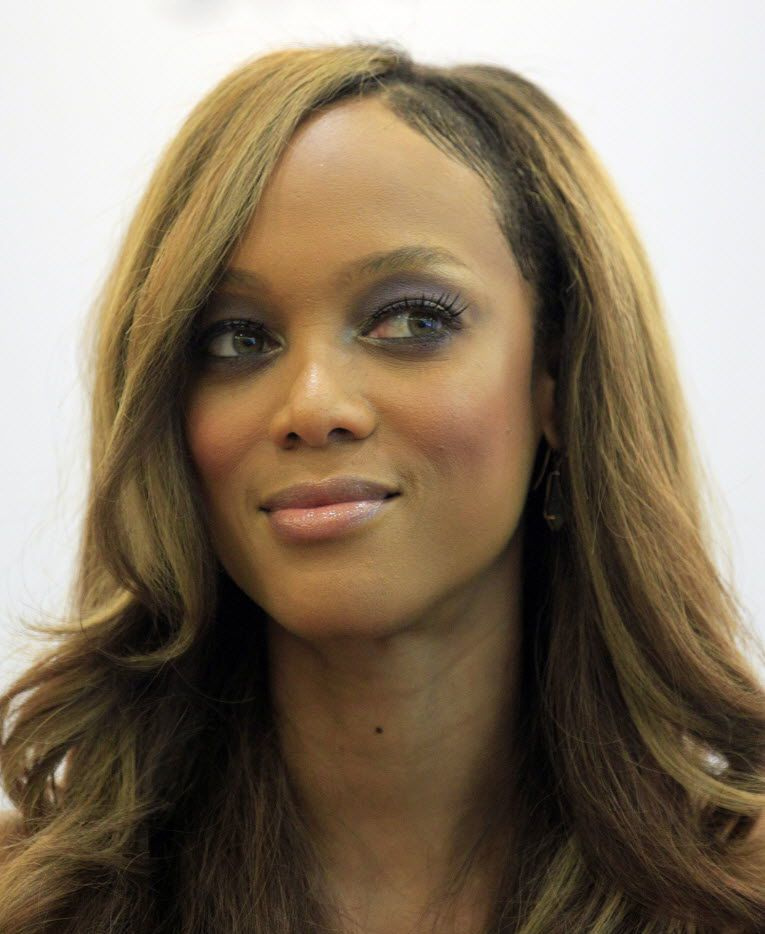 In this 2012 file photo, supermodel Tyra Banks attends a press conference in Singapore ahead of the launch of the Asia's Next Top Model.