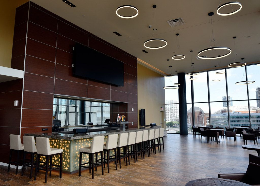 The bar area inside the Cinepolis theater in Victory Park Dallas, June 29, 2018. Ben Torres/Special Contributor