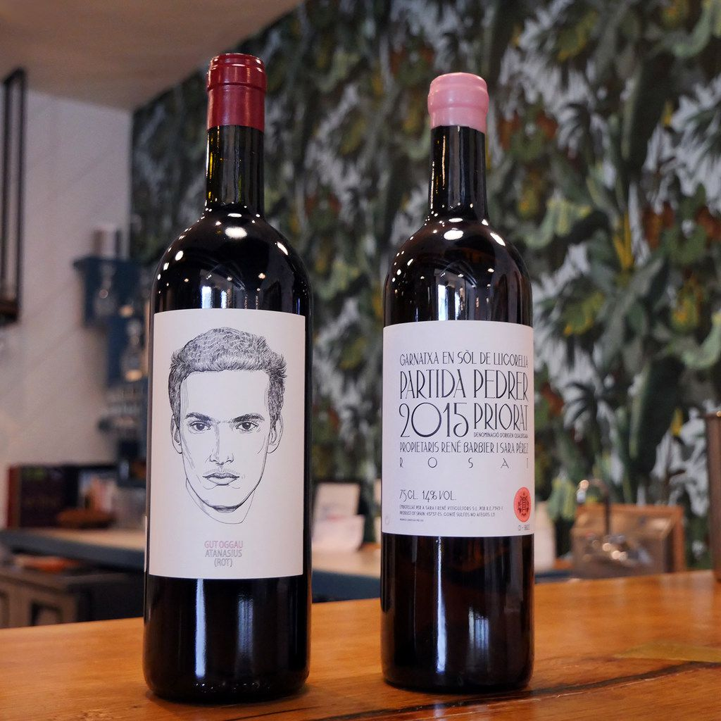 2017 Gut Oggau  Atanasius  and 'Partida Pedrer' Rosat, Priorat, 2015 at Bar & Garden, Dallas