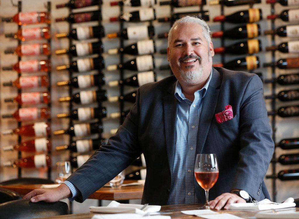 Jimmy Contreras, operating partner at Taco y Vino in Dallas