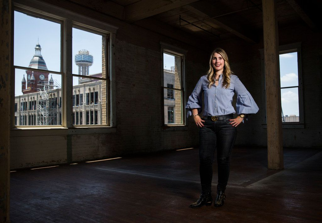 Tanya Ragan, owner and president of Wildcat Management, inside the Purse Building. The Business Journals recently named Ragan one of the top 100 real estate influencers in the country.