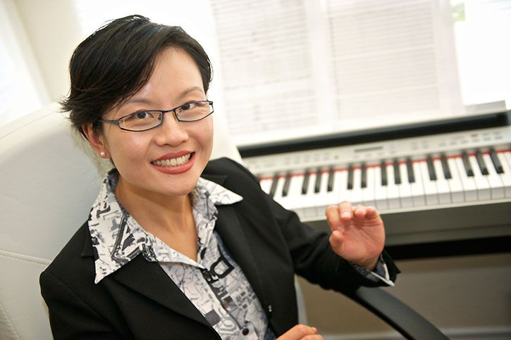 Dr. Xi Wing, associate professor of music composition at Southern Methodist University. Courtesy of SMU.