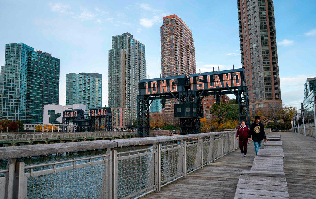Long Island City, in the Queens borough of New York, is one of the winners of the nationwide competition for Amazon's second headquarters, or HQ2. The other winner is Arlington, Va., across the Potomac River from Washington.
