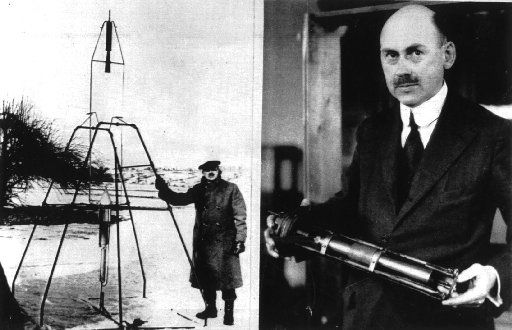 Robert H. Goddard's first rocket soared for about 2 1/2 seconds, flew as fast as 60 mph and landed 174 feet from the lift-off pad — a snow-covered patch of dirt in his aunt's backyard.
