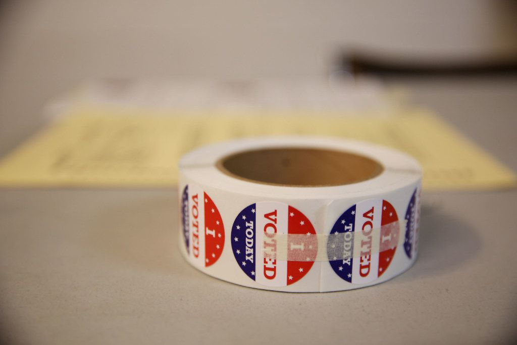 """""""I Voted Today"""" stickers"""