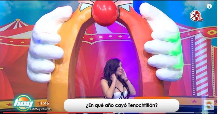 "Tracy Sáenz en el programa ""Hoy""/"