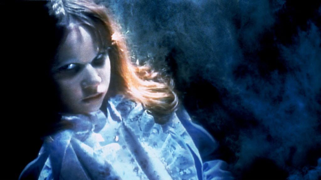 """Is it cold in here? Linda Blair portrays a possessed Regan MacNeil in a scene from """"The Exorcist."""""""