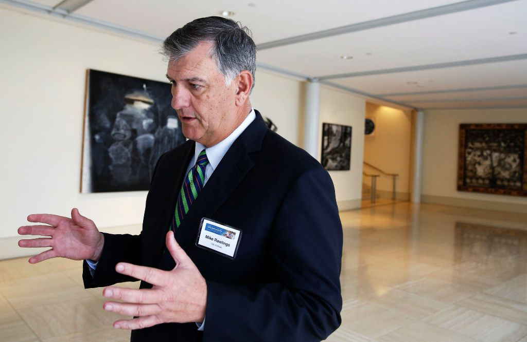 Dallas Mayor Mike Rawlings filed the lawsuit as a private citizen. (File Photo/David Woo)