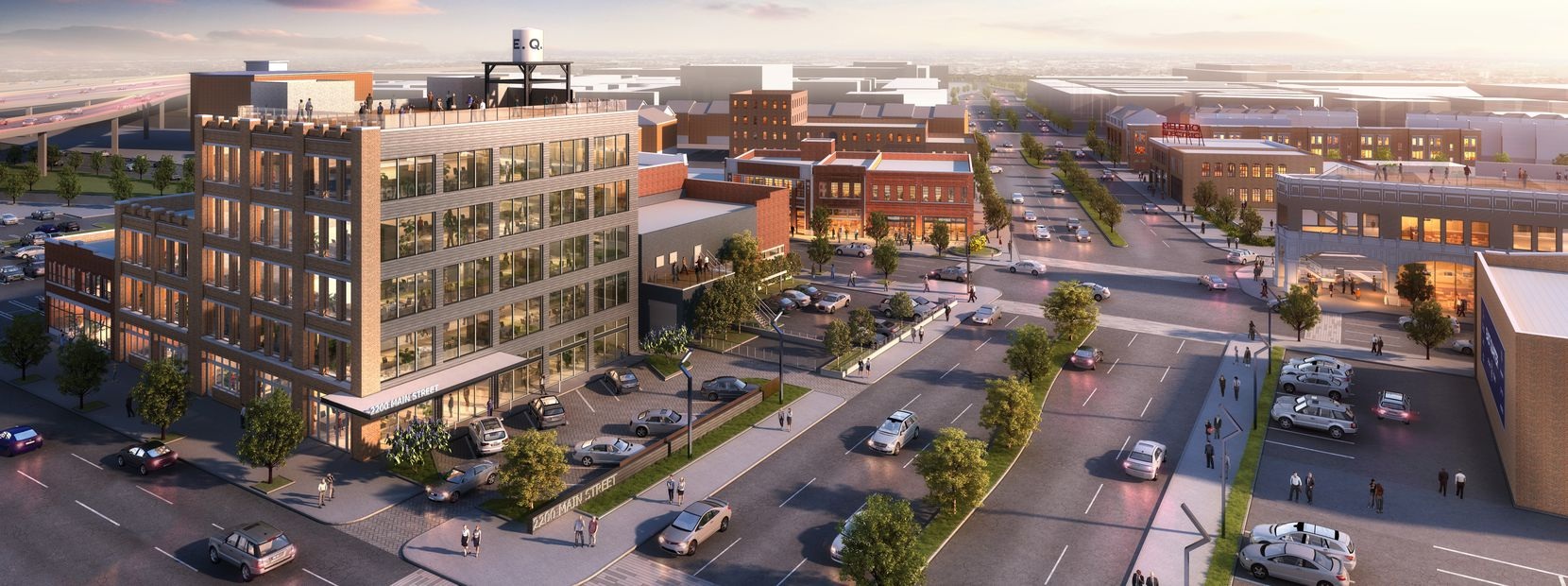 The East Quarter development on the edge of downtown is revitalizing almost a dozen old commercial buildings.