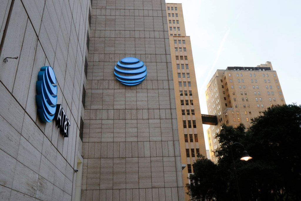 AT&T corporate headquarters in downtown Dallas, Wednesday, September 13, 2017, in Dallas.