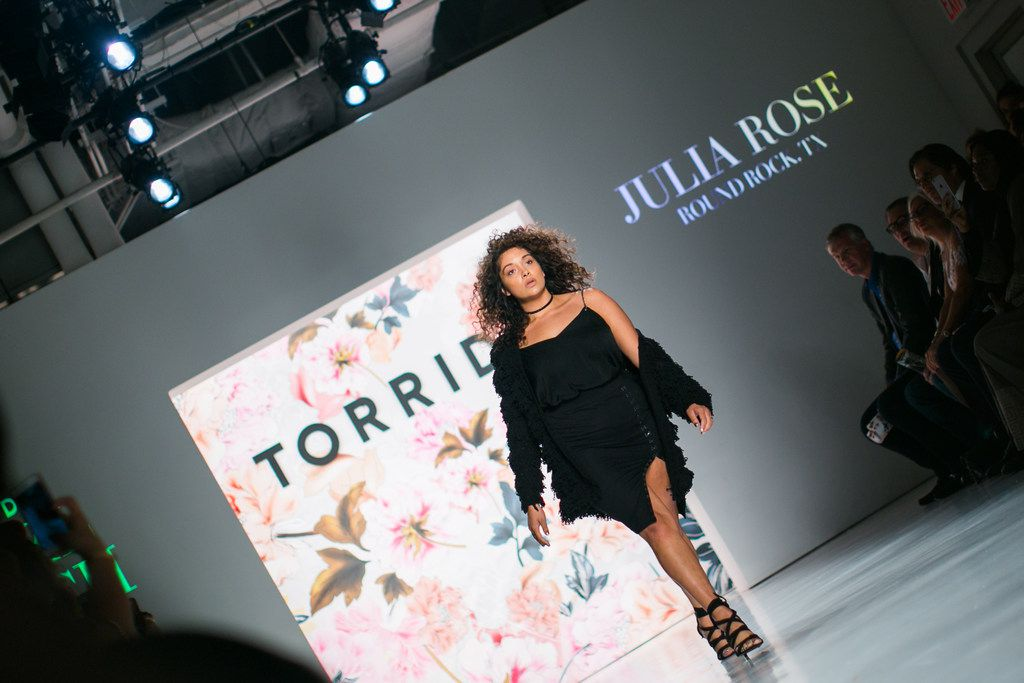 Julia Rose Miller of Round Rock is one of the four finalists in the Torrid model search.