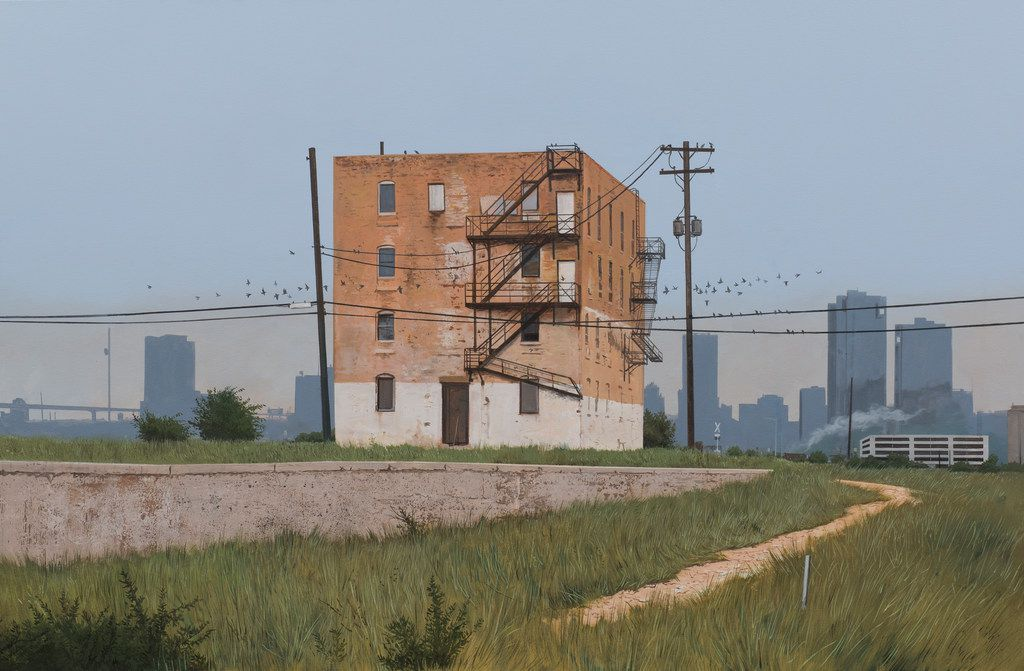 The Edge of Town, 2017 by Daniel Blagg