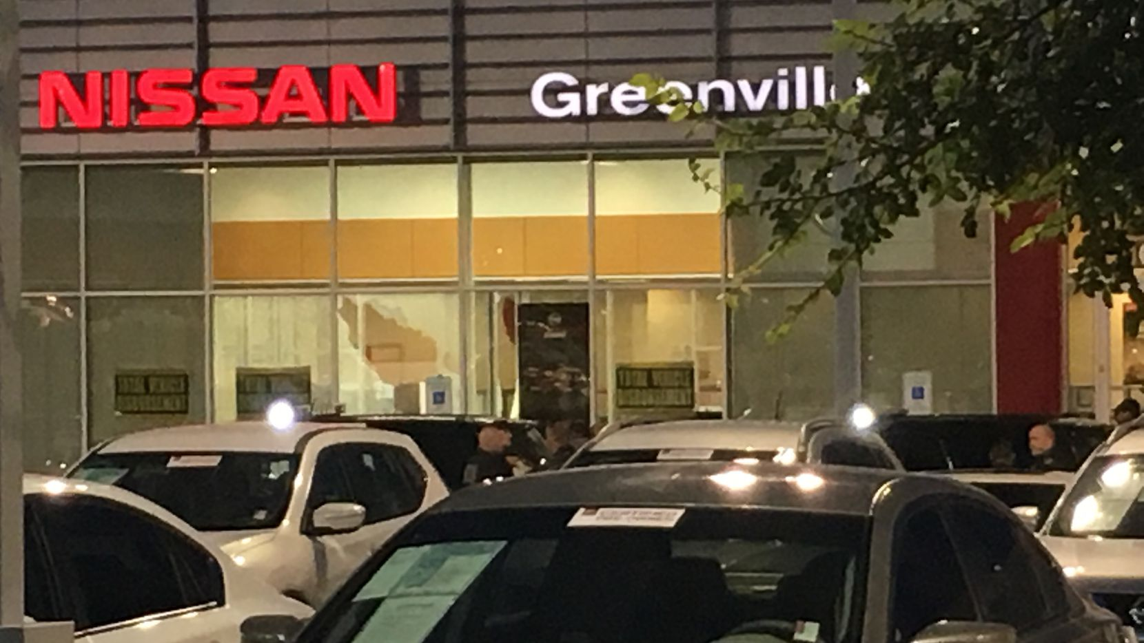 Three people were killed in a shooting Tuesday evening at a Greenville auto dealership.
