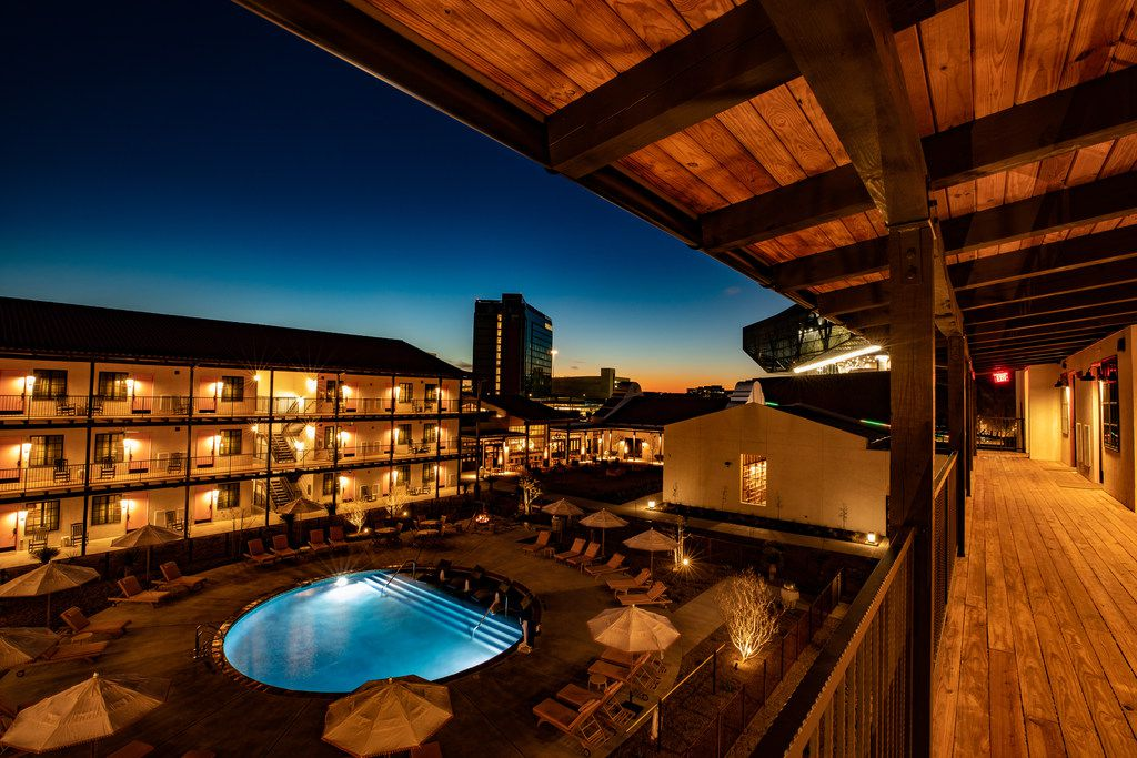The group that operates Texican Court in Las Colinas also runs several handsome hotels in other Texas cities.