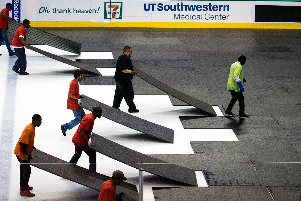 """The crew is split into six color-coded teams -- red, orange, green, yellow, pink and blue -- dubbed the """"Skittles team."""""""