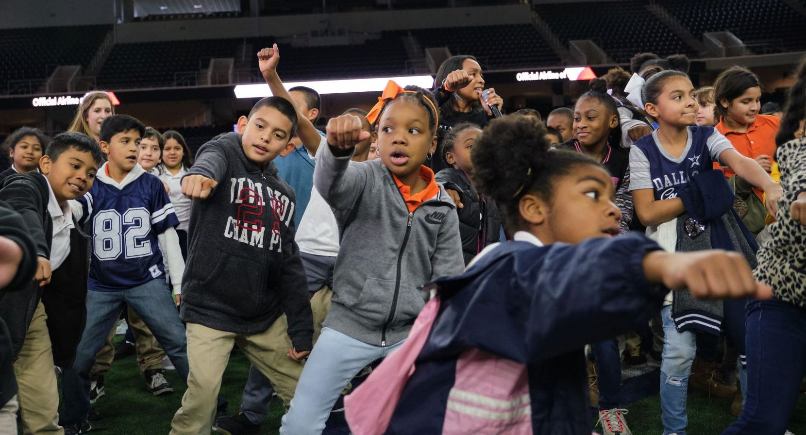 STATE Bags a Brooklyn-based backpack and accessories company, hosted one of its one-of-a-kind bag drops with other partners, donating 500 backpacks to students who attend Uplift Triumph Preparatory and Uplift Meridian Preparatory. The event was at The Star in Frisco. Photo from STATE Bags.