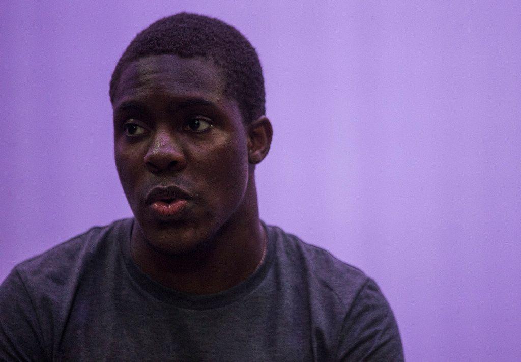 De'Aveyon Murphy, 18, portrays Dallas surgeon Dr. Brian Williams in the play.