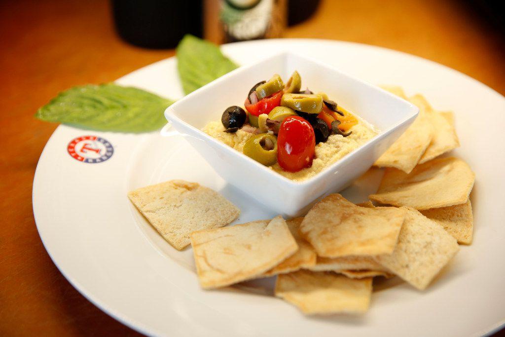 Mediterranean nachos