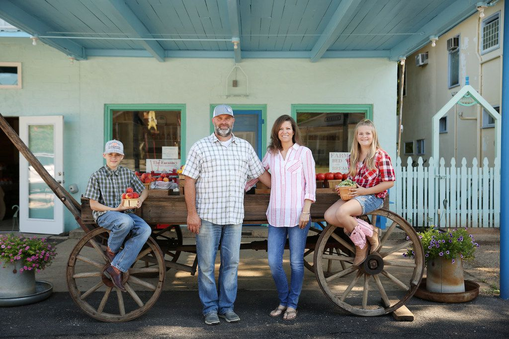 Doug and Dacia Williams have been farming under the name Grow It Forward Farm for seven years. Their store, The Farmacy, in Edom, has been open since April 2018. Their children are Hunter, 14, and Madison, 11.