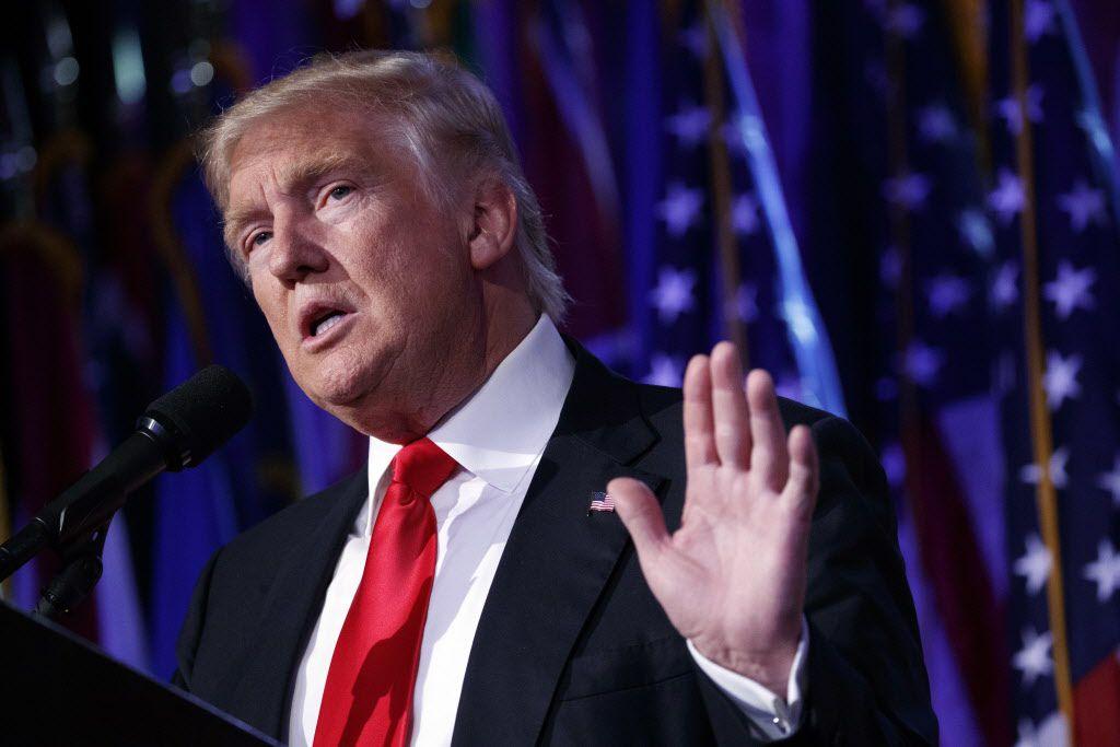 El presidente electo Donald Trump (AP)
