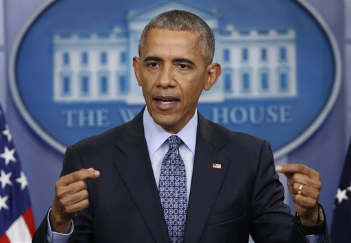 Foto del 18 de enero de 2017, del presidente Barack Obama en su última conferencia de prensa en la Casa Blanca en Washington.  Foto AP