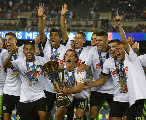 México es el campeón defensor de la Copa Oro, que arranca este viernes cerca de Nueva York. GETTY IMAGES